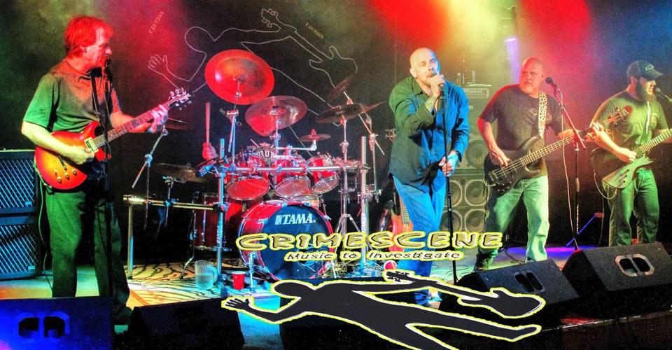 band-crime-scene