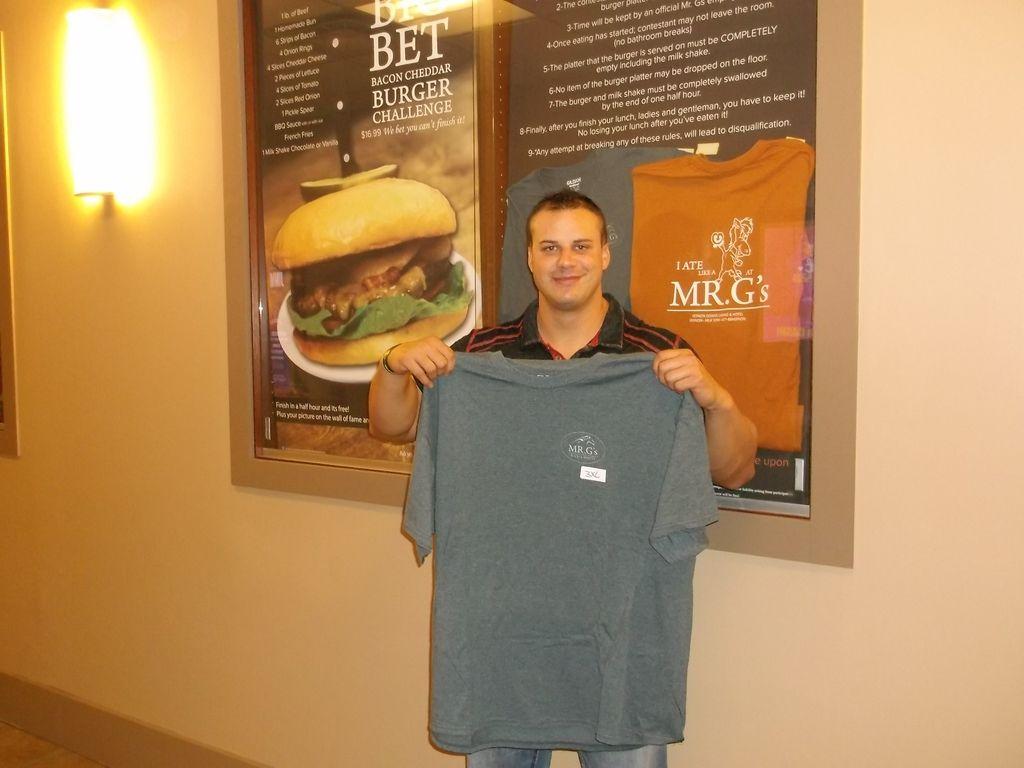 Big Bet Burger Challenge Winner