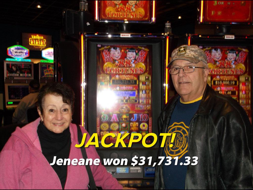 JACKPOT! Jeneane won $31,731.33