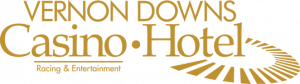 Vernon Downs Logo (Gold on transparent)