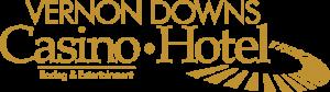 Vernon Downs Logo (Gold on transparent)