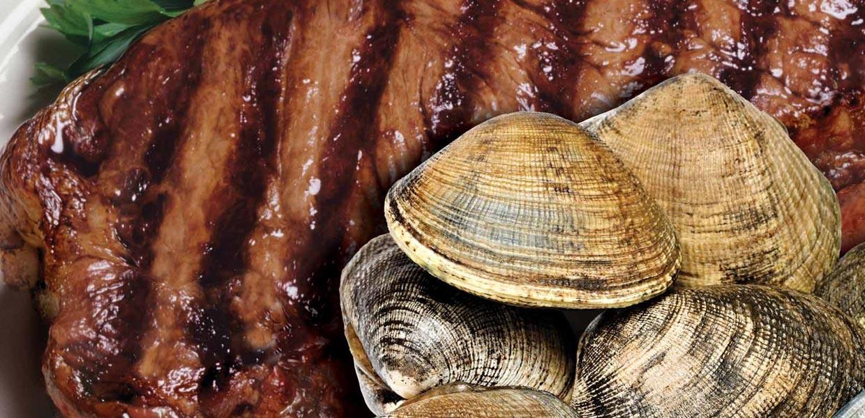 Champion's Saturday Steak & Clams Hero Shot