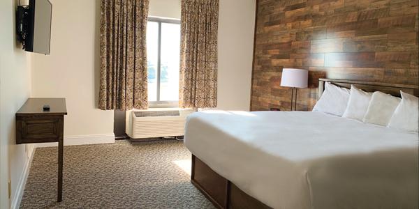 King Bed ADA Standard Room and Trackside Room