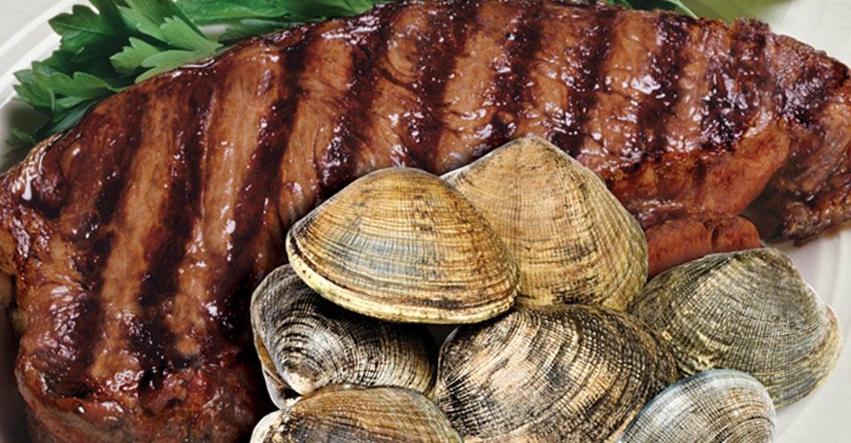 Champion's Saturday Steak & Clams