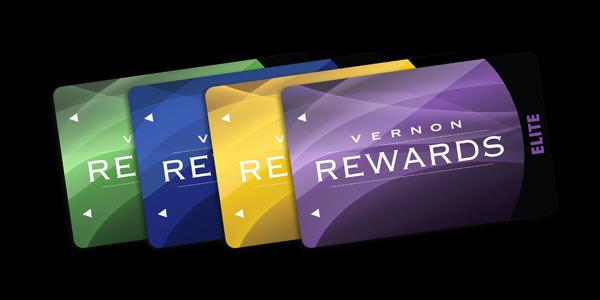 New Vernon Rewards Club Cards