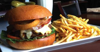 Mr. G's Big Fat Burger challenge