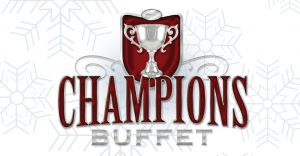 Champions Buffet Winter Logo