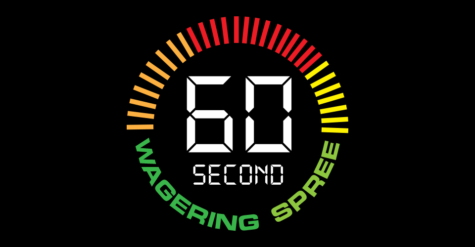 Racing Promotion: 60 Second Wagering Spree
